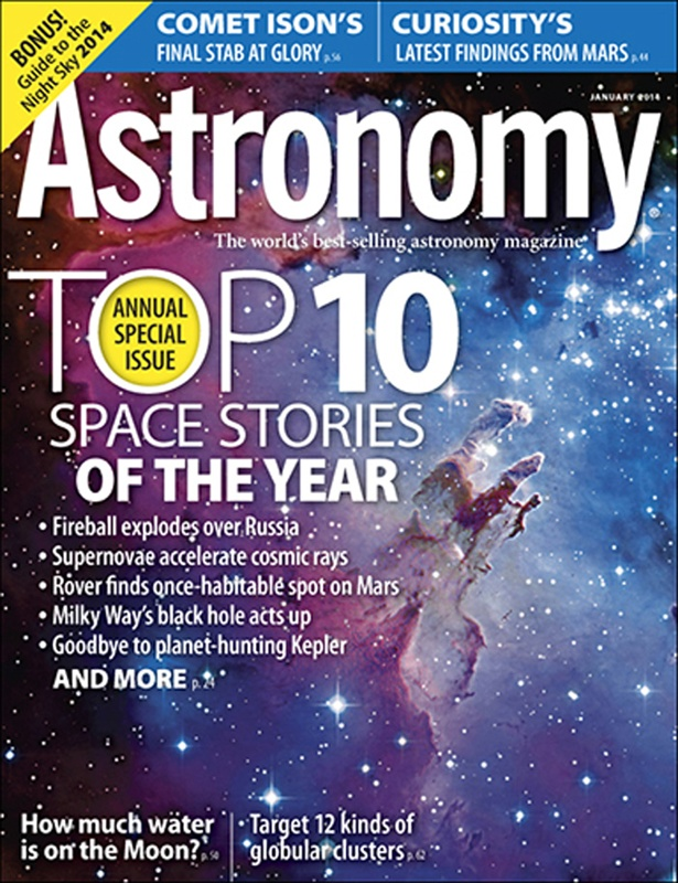 Top Ten Space Stories of the Year in Astronomy Magazine