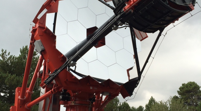 Inauguration of ASTRI SST-2M telescope, Cherenkov Telescope Array