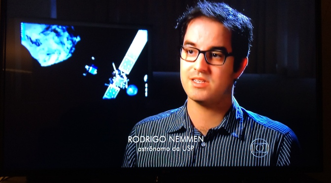 No Programa Fantástico, Rede Globo