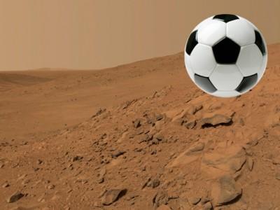 Futebol em Marte